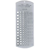 General Hardware P010 Drill Gauge - Number Sizes, 60 Holes