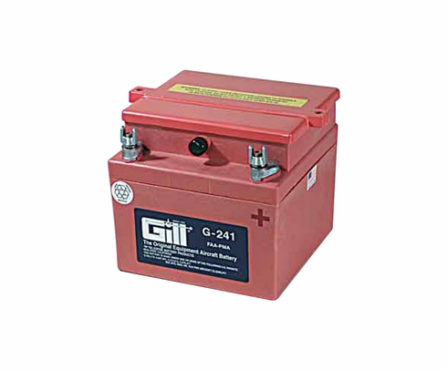 Gill G-241 Aircraft Battery without Acid