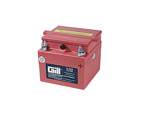 Gill G-243 Aircraft Battery without Acid