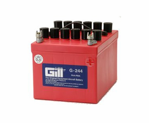 Gill G-244 Aircraft Battery without Acid  (CLEARANCE)
