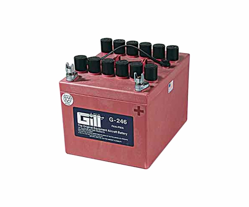 Gill G-246 Aircraft Battery without Acid