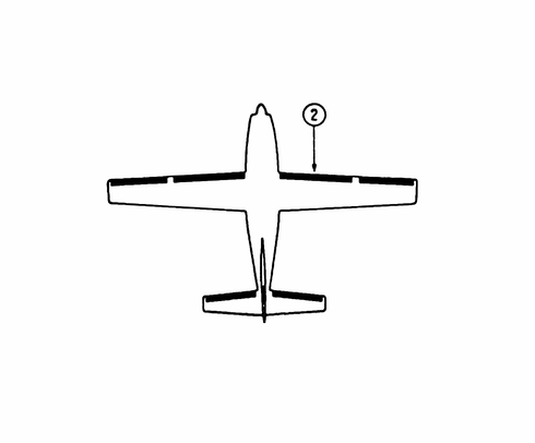 Goodrich P25S5D5101-08 FASTboot® Cessna 210N, T210N & P210N RH Wing De-Ice Boot