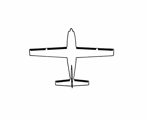 Goodrich P25S5D5170-08 FASTboot® Cessna P210R, 210R & T210R LH Wing - Tip De-Ice Boot