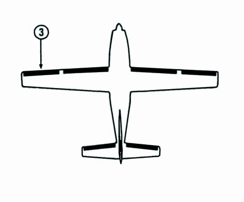 Goodrich P29S7D5175-25 FASTboot® Cessna 208, 208A & 208B LH Outboard Wing De-Ice Boot