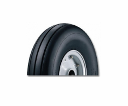 Goodyear 112T06-3 Ribbed 11.00-12-10 Ply 160 mph Tubeless Aircraft Tire