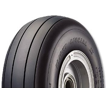 Goodyear 650C81-5 Flight Special II 6.50-10-8 Ply 120 mph Aircraft Tire