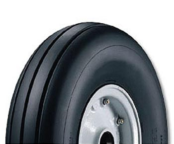 Goodyear 804C41-1 Ribbed 8.00-4-4 Ply 120 mph  Aircraft Tire