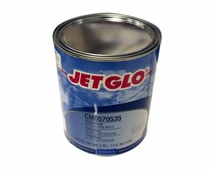 Sherwin-Williams CM0570535 JET GLO Matterhorn White Polyester Urethane Topcoat Paint - Gallon