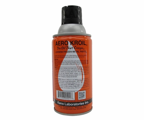 KANO AeroKroil® AP Reddish Penetrating Oil - 283 Gram (10 oz) Aerosol Can