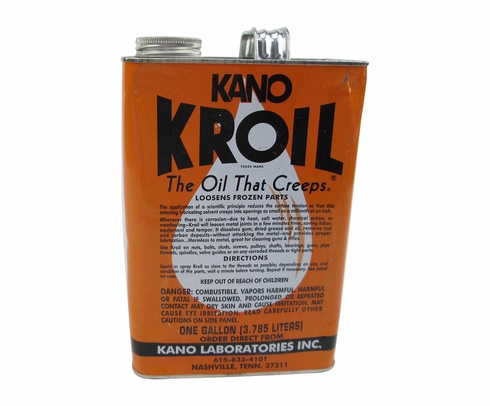 KANO Kroil® 1GP Reddish Penetrating Oil - 3.78 Liter (Gallon) Can