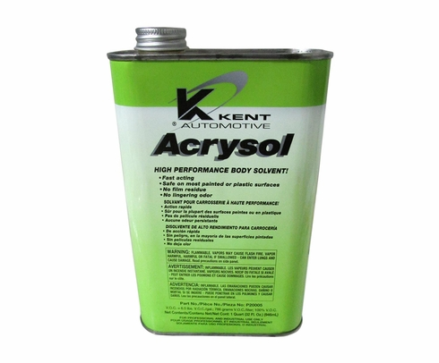 Kent® P20005 Acrysol Paint Preparation & Auto Body Solvent - Quart Can