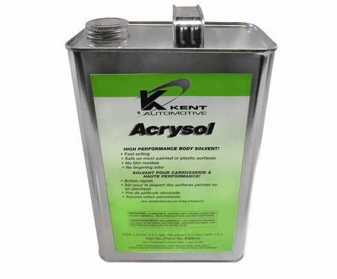 Kent® P20010 Acrysol Paint Preparation & Auto Body Solvent - Gallon Can
