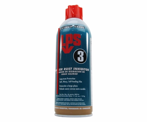 LPS� 00316 LPS-3 Brown Long-Term Premier Rust Inhibitor - 11 oz Aerosol Can