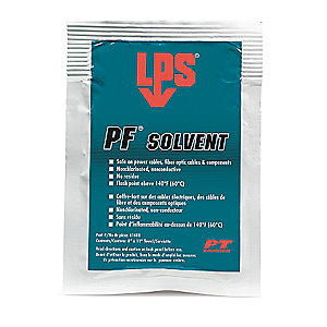 LPS� 61400 PF Solvent Clear/White Penetrating Degreaser - 1 Wipe Pack