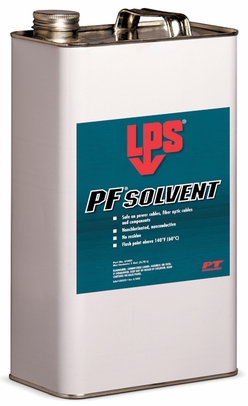 LPS� 61401 PF Solvent Clear/White Penetrating Degreaser - Gallon Steel Can