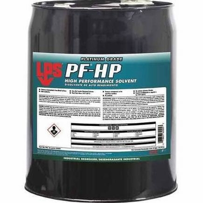 LPS� 62005 PF-HP Clear High Performance Solvent Degreaser - 5 Gallon Steel Pail