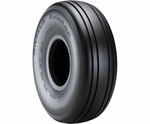 Michelin® 021-356-1 Aviator® Black 6.50-10-10 Ply 160 mph TT/TL Aircraft Tire