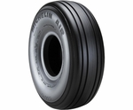 Michelin® 076-345-0 Air® Black 6.50 x 10 8 Ply 120 mph Tubeless Aircraft Tire