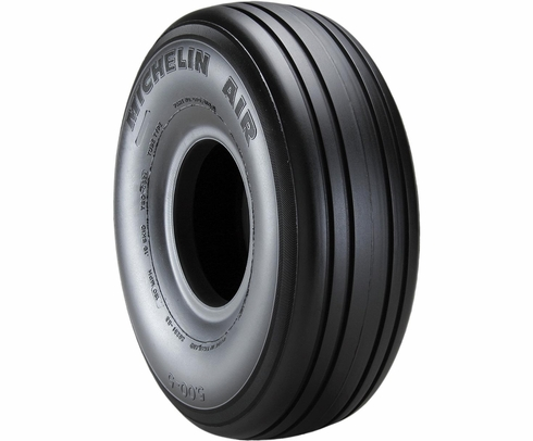Michelin 076-356-0 Air 6.50-10-10 Ply 120 mph Tubeless Aircraft Tire