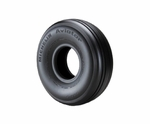 Michelin® 092-344-0 Airstop® Black 6.50-10 TR-25 Straight Valve Aircraft Inner Tube