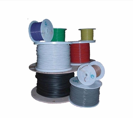 Military Specification M22759/16-16-7 Violet 16 AWG PTFE Tapes/Coated Fiberglass Braid Wire - Sold per Foot