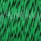 Military Specification M22759/34-22-10 Green/Black 22 AWG PTFE Tapes/Coated Fiberglass Braid Wire - Sold per Foot