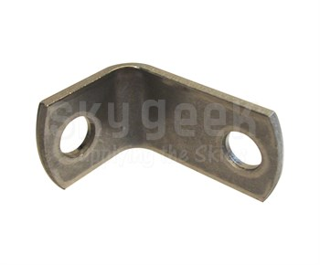 Military Standard MS9592-048 Crescent Steel 90° Bracket, Angle