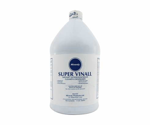 Mirandy Products Super Vinall Aircraft Exterior Cleaner & Degreaser - Gallon