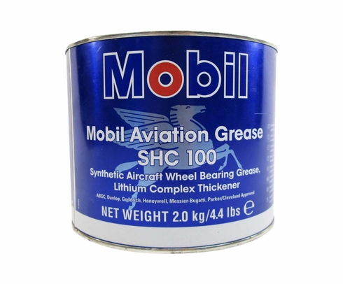 Exxon Mobil SHC 100 Synthetic Aviation Grease - 4.4 lb Can