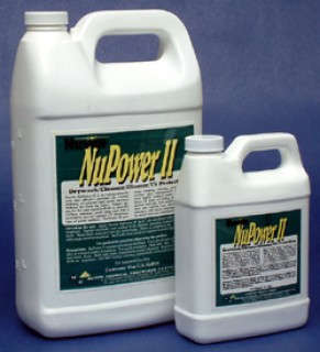 Nuvite Pc2190 Nupower Ii Waterless Cleaning Aircraft Dry Wash Polish Paint Protectant From