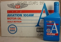 Phillips 66 Aviation 100AW SAE 50 Aircraft Engine Oil