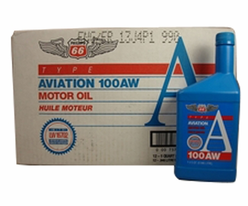 Phillips 66 Victory� Aviation 100AW (SAE 50) Aircraft Engine Oil - 12 Quart (946 mL)/Case