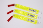 Plane Sights™ SWSCX3DAS0308 Reflective Yellow Square Style (Falcon, Hawkers & Beechjet) Static Wick Covers - 3 Cover/Pack
