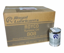 ROYCO� 808 Clear MIL-PRF-7808L Spec Advanced Synthetic Turbine Engine Oil - 24 Quart/Case