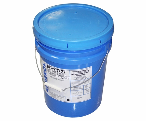 ROYCO� 27 Tan MIL-PRF-23827C Amendment 2, Type I Spec Aircraft Instrument & Gear Bearing Grease - 5 Gallon Plastic Pail