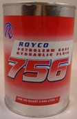 ROYCO® 756 Mineral Oil Based Aircraft Hydraulic Fluid