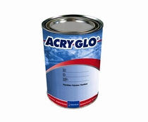 Sherwin-Williams A07401 ACRY GLO HS Contrail White Acrylic Urethane Paint - 3/4 Quart