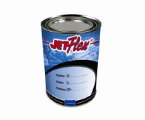 Sherwin-Williams E08125 JETFlex Urethane FS 595 37038 Flat Black Paint - 7/8 Pint Can