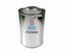 Sherwin-Williams F63FC79 Polane S UVR Polyurethane Coating Part A - Low Gloss Clear - 5 Gallon Pail