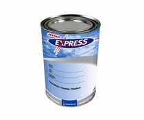 Sherwin-Williams Z01955 JET GLO Express FED-STD-595 17038 Gloss Black Polyester Urethane Topcoat Paint  - Quart