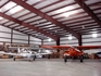 Inside one of our many hangars