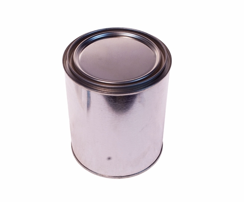 SkyGeek 1817 Metal Paint Can with Lid - Quart (CLEARANCE)