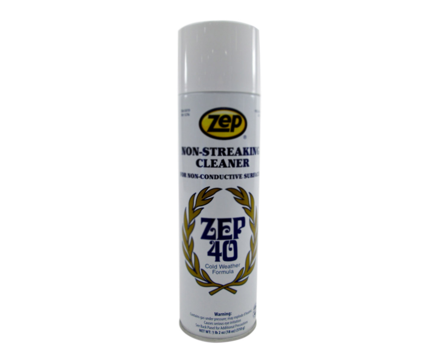 . ZEP 40 Non Streaking Multi Surface Cleaner   18 oz Can