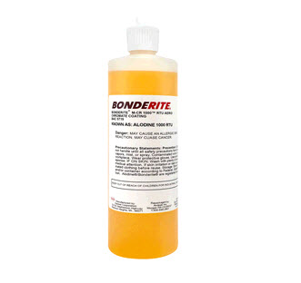 Henkel 006653 BONDERITE� M-CR 600� AERO Light Metals Conversion Coating - 16 oz Bottle