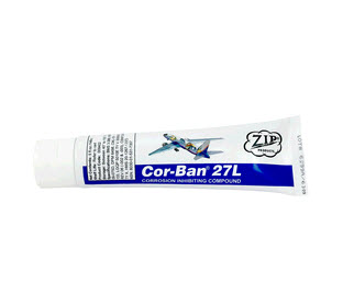 Zip Chem 009402 Cor-Ban 27L Corrosion Inhibiting Compound - 5 oz Tube