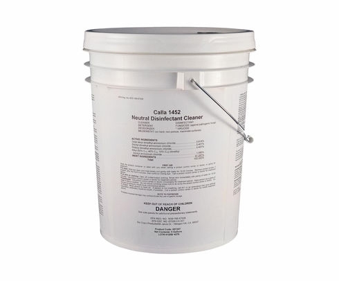 Zip Chem 007247 Calla 1452 General Purpose Neutral Disinfectant Cleaner - 5 Gallon Pail