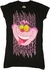 Alice in Wonderland Deranged Cat Baby Tee
