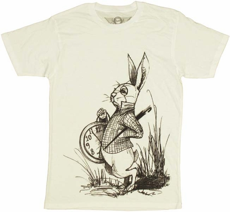 Alice in Wonderland Rabbit T-Shirt Sheer
