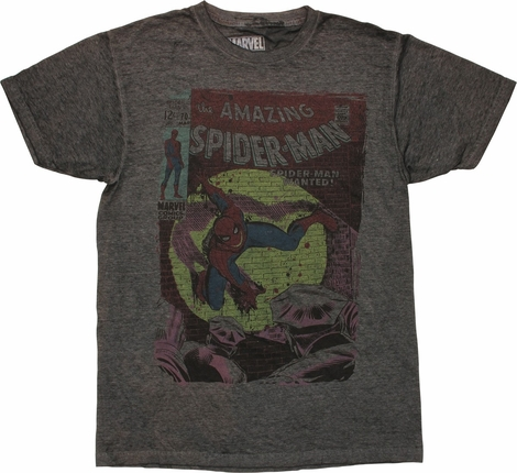 Amazing Spiderman Issue 70 Cover T-Shirt Sheer