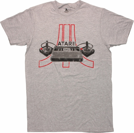 Atari 2600 Outline Logo T-Shirt
